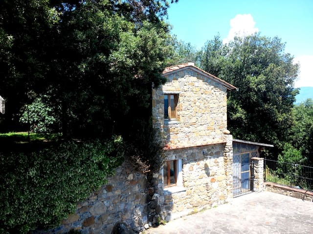Stone House with private Pool + LIVE ROCK CLUB !!! - Bucine - Ev