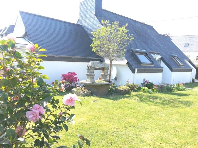 Maison cosy proche plage et piscine - 孔卡爾諾(Concarneau) - 獨棟