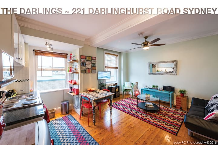 """Welcome to our special place """"The Darlings"""" - Darlinghurst - Departamento"""