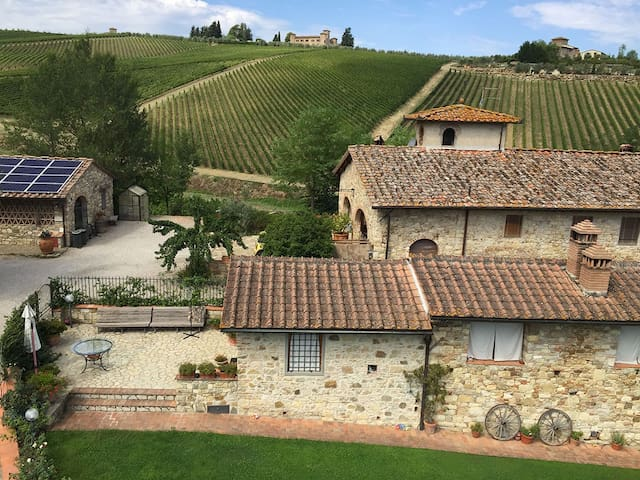 Holiday house in chianti with Jacuzzi - Florence - San Casciano in Val di Pesa - Hus