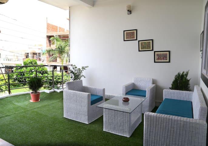 Clean and Comfy Home stay near Taj Mahal - Agra - Huis