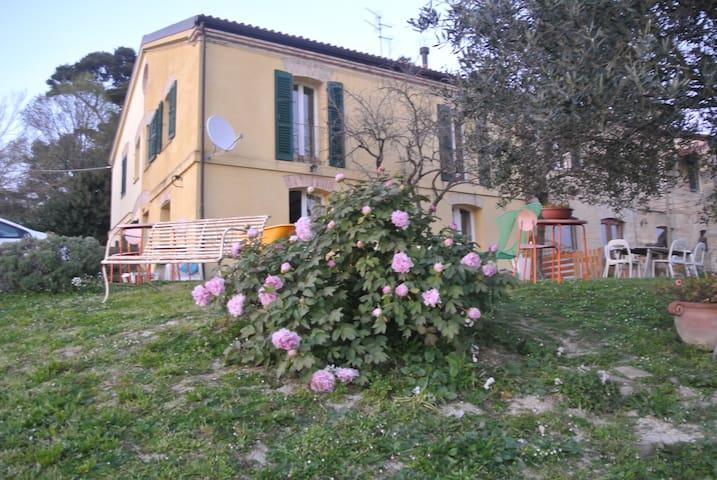 """camera singola """"alle porte della città"""" - Ancona - Huis"""