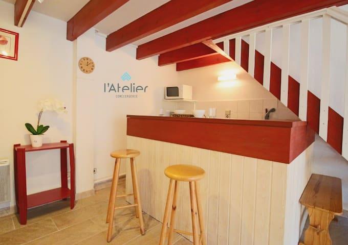 Jolie maison T3 à Guchan proche de Saint Lary - Guchan - Huis
