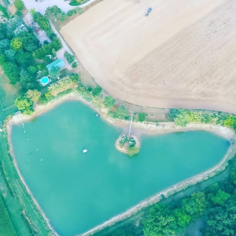Mobile Home with swiming pool in SO - Montignac-de-Lauzun - Bungalow