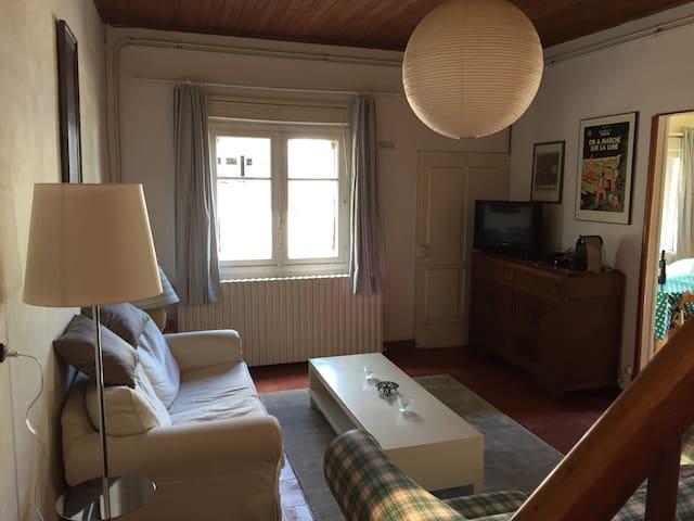 Petite Maison Avec Terrace - Meilhan-sur-Garonne - Rumah