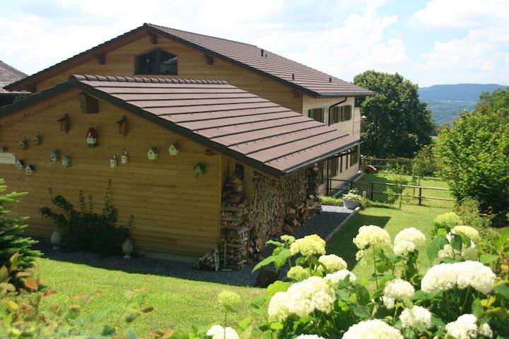 Geniet in B&B Swiss Seasons - Schongau - Bed & Breakfast