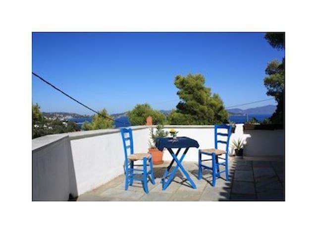 Villa mit Traumblick über die Ägäis - Skiathos - Maison