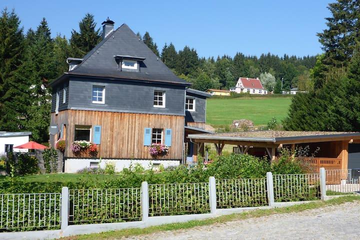Ferienwohnung Heber in Vesser, Thüringer Wald - Suhl - Lägenhet