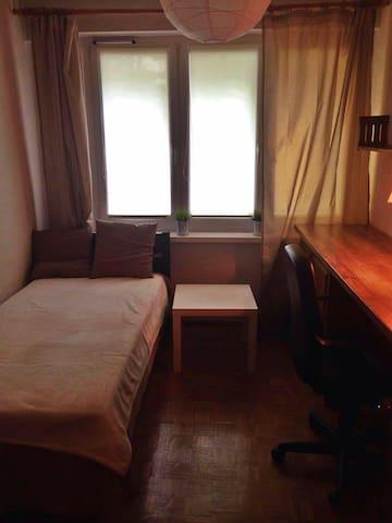 Cozy room in Poznań - Poznań - Hus