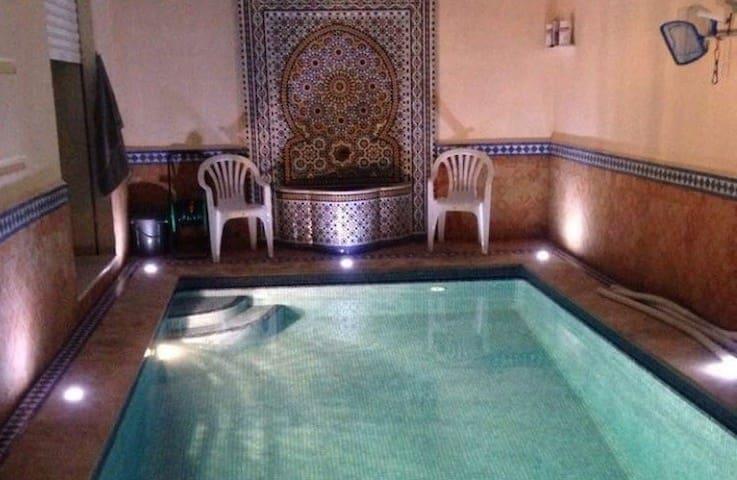 New Villa with private pool, walking beach - Safi - Dům