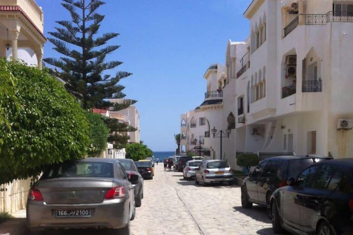 Appart vue mer - Sousse - Apartment
