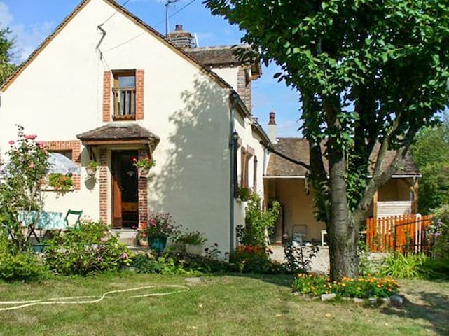 Traditional house near vineyard - Villeuneuve sur Yonne - Huis
