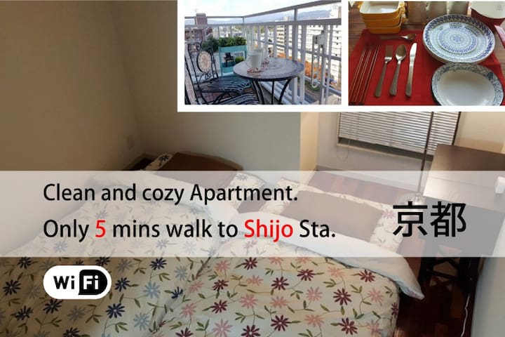 Perfect Stay Mid-Downtown/WIFI/#IS3 - Kyōto-shi - Apartemen