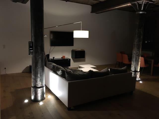 Beau et spacieux loft rénové, 130m2 - Uckange - Leilighet