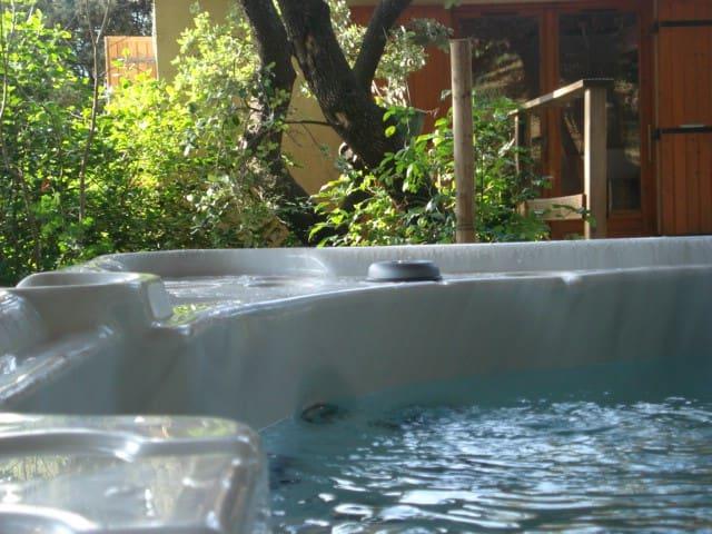 Cabin garden and spa en Provence - Saze - Rumah