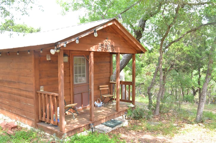 Relaxing & Romantic Cabin in Texas Hill Country - Canyon Lake - Chatka