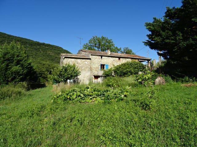 Chambre dans une maison,campagne,Rochebaudin,Drome - Rochebaudin - Casa