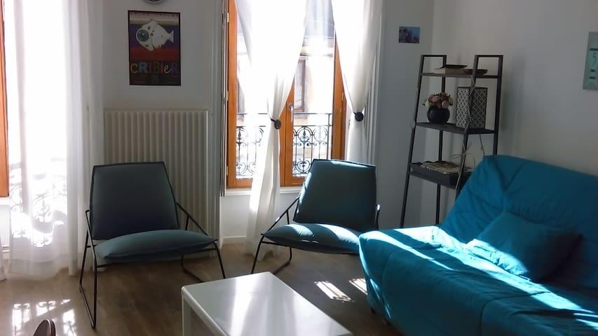 Joli logement, calme et très bien situé - Quimper - Byt