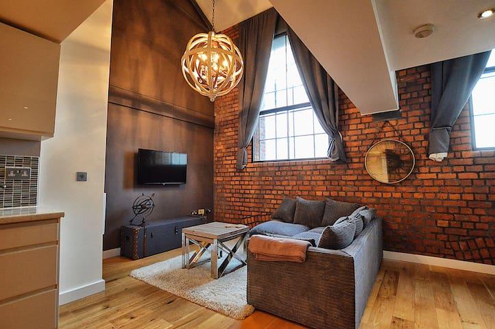 Luxury Duplex City Centre Apartment nr the Arena - Manchester - Apartamento