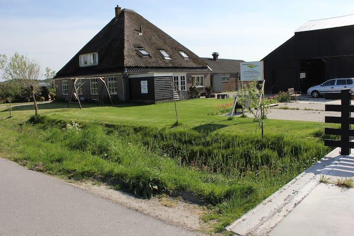 Appartement op boerderij voor max 6 tot 8 personen - Schoorl - Appartement en résidence