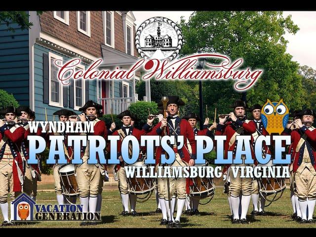 Patriots Place ツ 1BR Wyndham Resort Condos - Williamsburg - Appartement