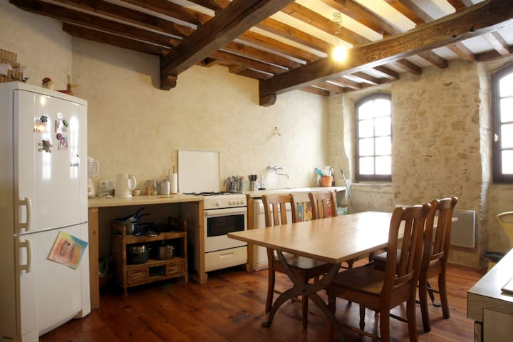 grande maison de village cathare - Laurac - Casa