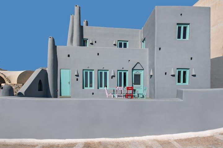 The Grey Villa - Thira - Apartmen