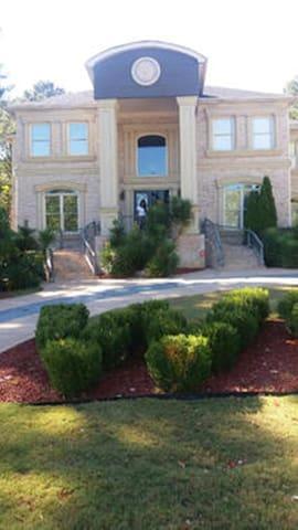 Pool House Mansion - Austell - Casa