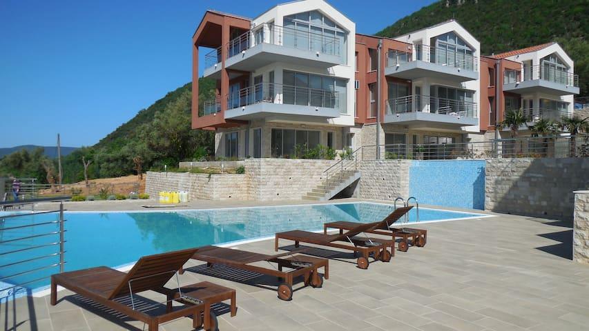 Luxurious new apartment, Đenovići - Đenovići - Lägenhet