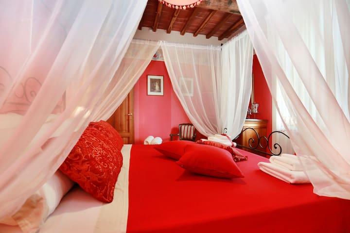 Charming apartment in Villa Orsucci - Orentano - Apartamento