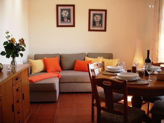 Casa junto à Praia T1 Com vista Mar - Vila Nova de Milfontes - Leilighet