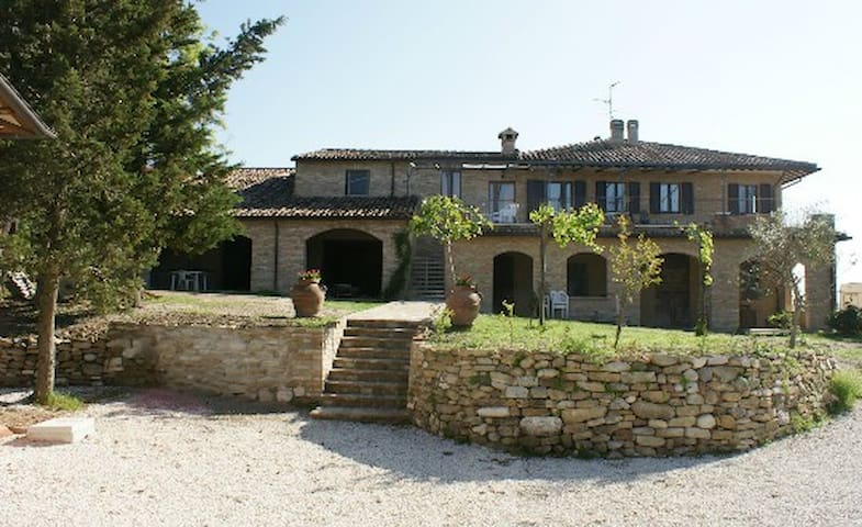 Nice apartment between green and Middle Ages - Urbino - Huis
