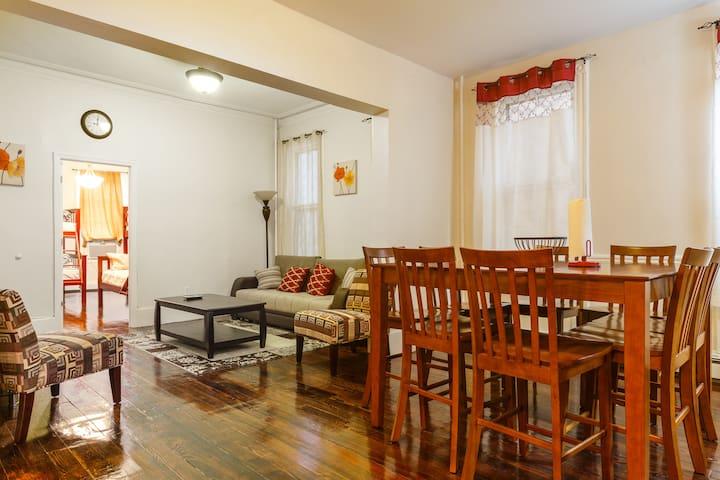 6. NYC. 5 minutes away Apartment!!! - Weehawken - Apartemen