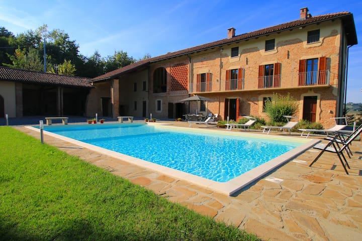 Luxury villa in Piedmont, Italy - Fubine - Vila
