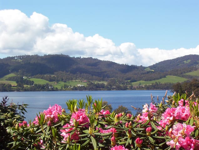 Donalea Riverview Apartment and Gardens - Castle Forbes Bay, Huon Valley - Departamento