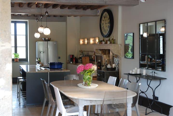 La Maison de Meloisey - Piscine Beaune - Bourgogne - Meloisey - Дом