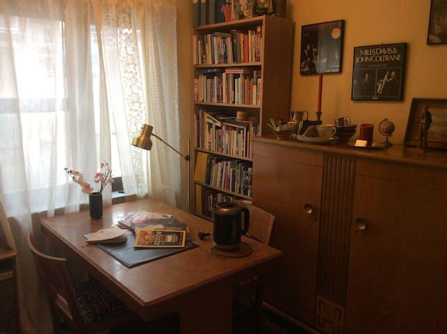 Cozy studio with a vintage touch! - Estocolmo - Departamento