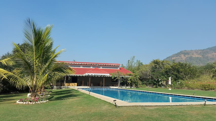 Luxury Hillside Bungalow in Alibaug - Raigad