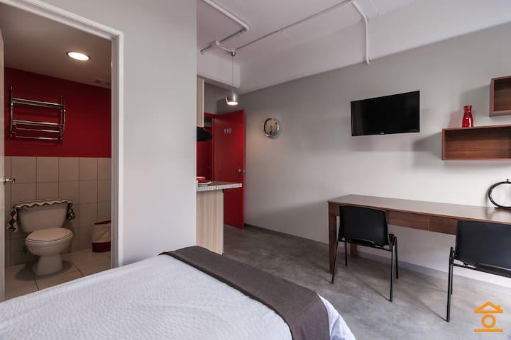Habitaciones equipadas excelente ubicacion/precio - Guatemala