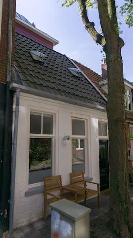 Schattig schippershuisje - Groningen - Casa