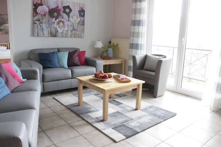 Moderne, helle Wohnung in Winzerort - Nittel