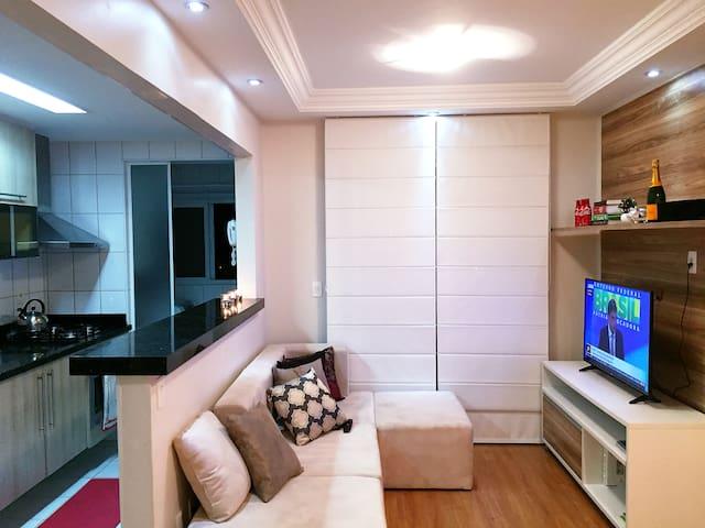 Comfy Room at Pacaembu/Barra Funda - São Paulo - Departamento