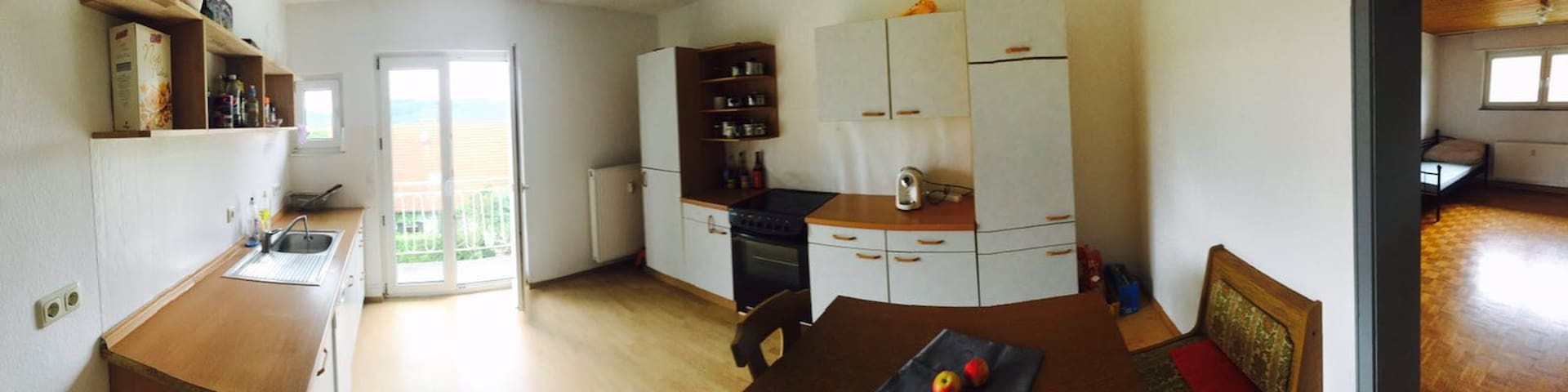 19qm Zimmer in einer WG im Naturpark Pfälzer Wald - Schopp - 公寓