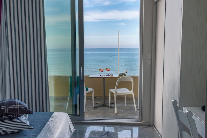 Deluxe Suite with Sea view - Rethymno - Daire