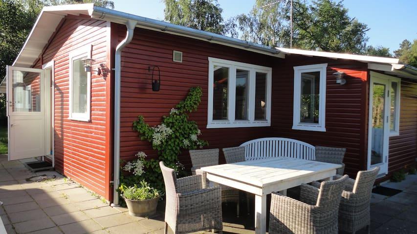 Cosy Cottage  Near Høve Beach - Asnæs - Blockhütte