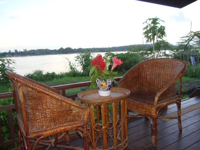 Flanerie on the Mekong - Vientiane - Bangalô