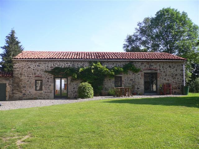 Beautiful gite for up to 5+baby, stunning location - Condat-lès-Montboissier - Daire