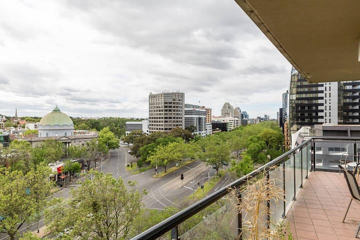 CENTRAL MELBOURNE CBD FLAT - VIC - Leilighet
