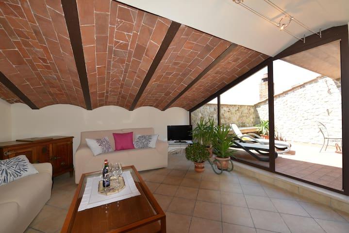 Casa Cristina - Appartamento 1 - Radicondoli - Lägenhet
