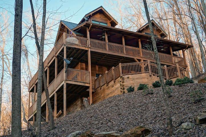 Secluded Log Cabin W/ Great Views - Jasper - Talo